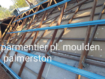 Stripped Roof Trusses for Roof Replacement in Palmerston NT